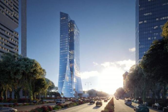 Mərkəzi Bank yeni 160 m hündürlükdə binanı tikəcək qalib şirkəti - Açıqlayıb   FED.az