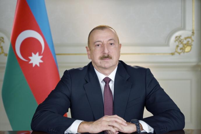 İlham Əliyev xalqa müraciət edir - VİDEO